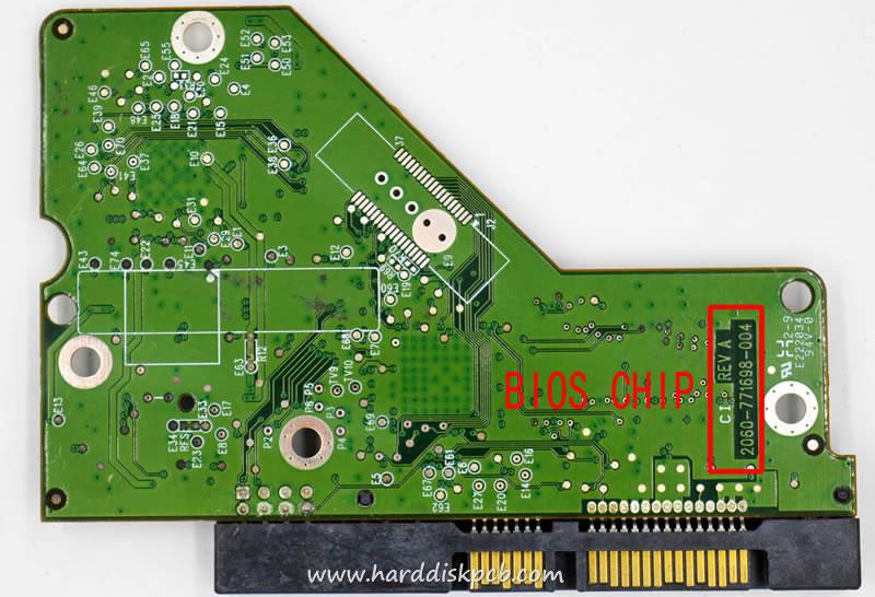 WD SATA 3.5 PCB 771698-904 AB WD20EARX-00PASB0