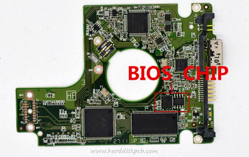 WD10TMVW-11ZSMS5 771814-401 AE WD USB 2.5 PCB